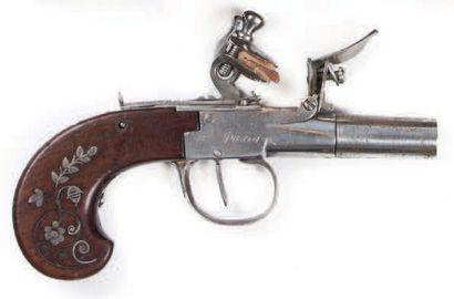 Pistolet à silex à l'écossaise et à balle...