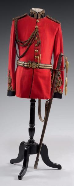Tunique de Capitaine du Royal Dragoons Complet...