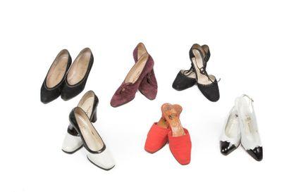 Six paires de souliers: Mancini, une paire...