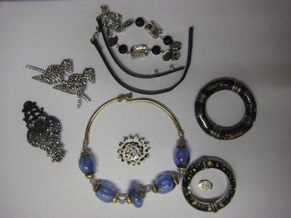 LOT de bijoux fantaisie dont Sonia RYKIE...