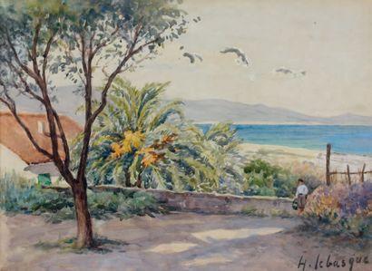 Attribué à Henri LEBASQUE (1865-1937)