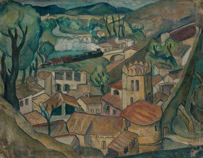 Attribué à Celso LAGAR (1891-1966)