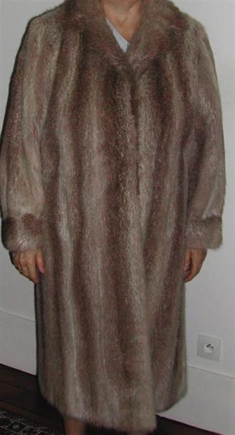 Manteau de fourure, ragondin