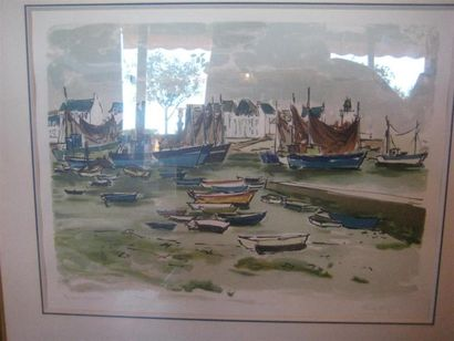 Pierre HUMBLOT (1907 -1962) Port Epreuve...