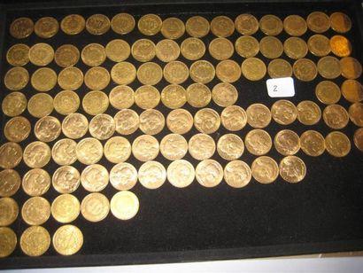 FRANCE 20 francs or, Louis Napoléon, 1852...