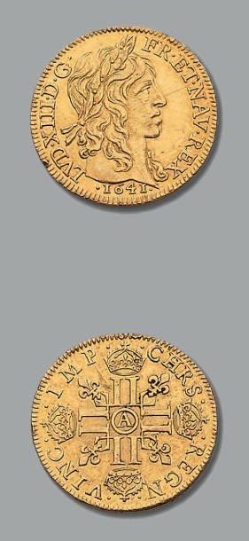 LOUIS XIII (1610-1643) Louis d'or de Warin....