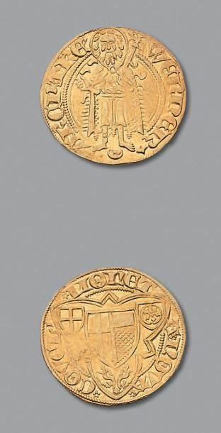 ALLEMAGNE, Trêves Werner (1388-1418) Gulden...
