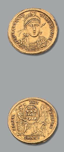 CONSTANCE II (324-361) Solidus. Antioche....