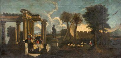 École ITALIENNE du XVIIIe siècle, suiveur de Giovanni GHISOLFI
