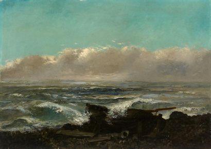 Atelier de Gustave COURBET (1819-1877) ou entourage de