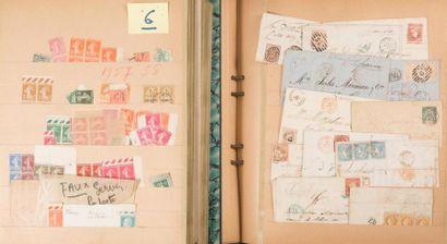 Deux albums ° dont lettres militaires Indochine...