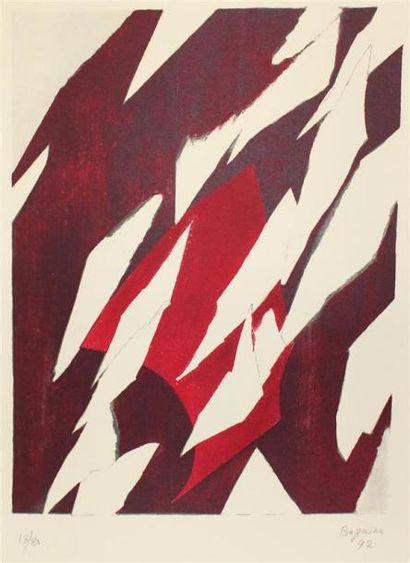 Jean René BAZAINE (1904-2001) Composition,...