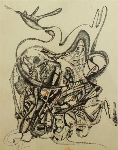 Mahjoubi AHERDAN (1924) Composition Technique...