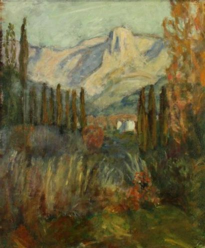 Eugène Antoine DURENNE (1860-1944) Le Baou...