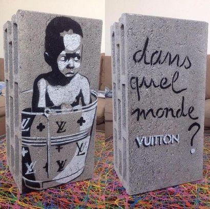 EZK Dans quel monde Vuitton ? Peinture a...
