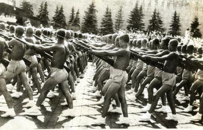 URSS, Armée Rouge, 1936. Tirage argentique...