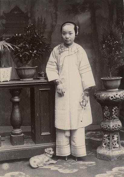 Photographe non identifié. Chine, neuf (9)...
