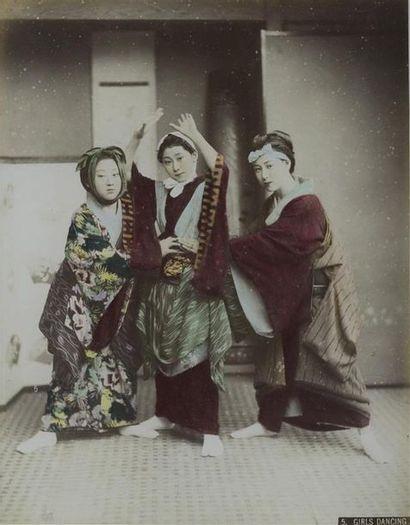 Photographe non identifié. Japon, femmes...