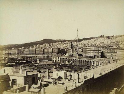 Photographe non identifié. Alger, le port...