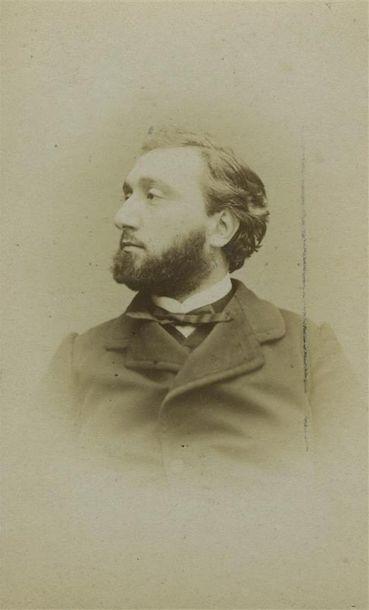 Etienne CARJAT (1828-1906). Portrait de Léon...