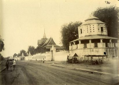 Photographe non identifié. Indochine, dix-sept photographies (17) vers 1880-1890....