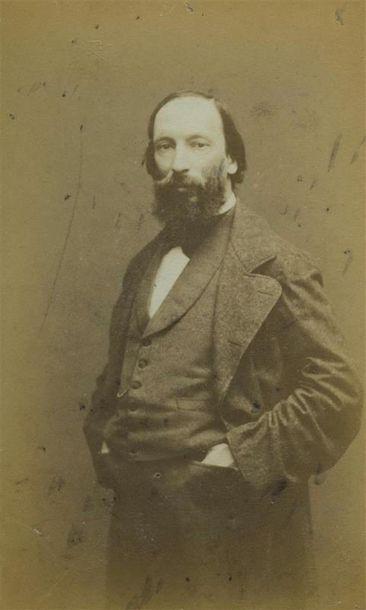 LEGE & BERGERON. Portrait d'Auguste Vacquerie...