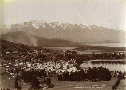 MUIR & MOODIE. Nouvelle-Zélande, six (6)...