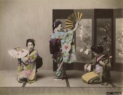 Kozaburo TAMAMURA (1856-?) et autres. Japon,...