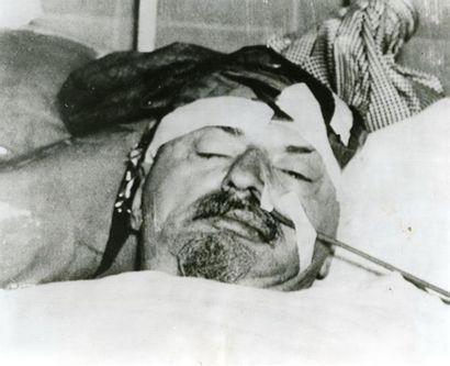 Trotsky assassiné, 1940. Tirage argentique...