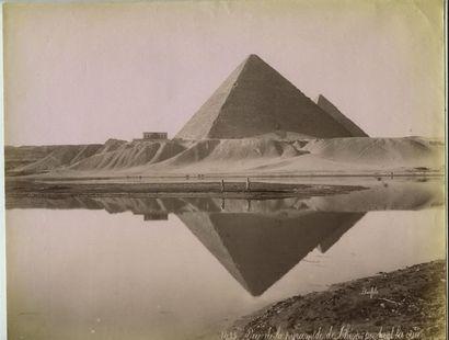 Félix BONFILS (1831-1885). Egypte, cinq photographies...