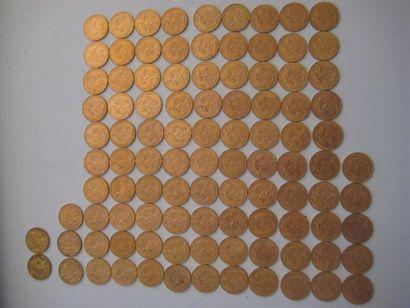 FRANCE 20 francs, Céres, 1851 (2) 20 francs...