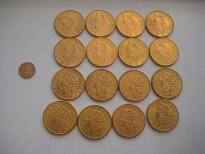USA 20 Dollars or, Eagle, 1920, 1922, 1924...