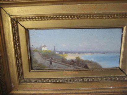 WILLEMIN (XIXème-XXème) Paire de peintures...