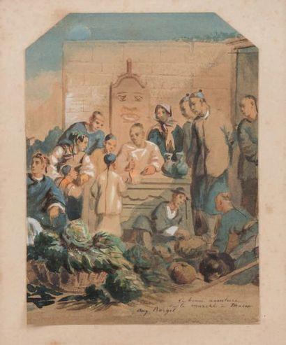 Auguste BORGET (1808-1877)