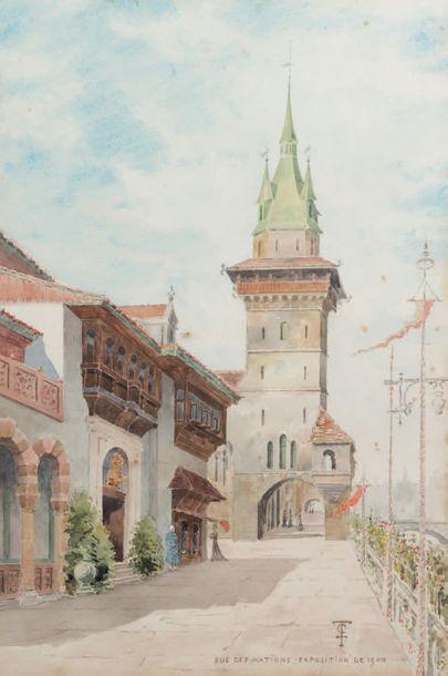 École française en 1900