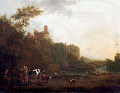 ATTRIBUÉ À LUCAS ACHTSCHELLINCK (1626-1699)