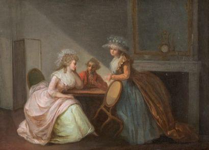 ATTRIBUÉ À PIERRE ANTOINE BAUDOUIN (1723-1769)