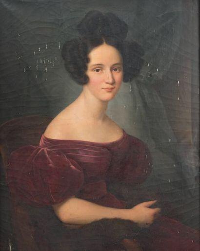 Benjamin de ROLLAND (La Guadeloupe 1777 - Grenoble 1855)