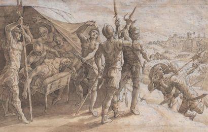 ÉCOLE FLAMANDE du début du XVIIe siècle