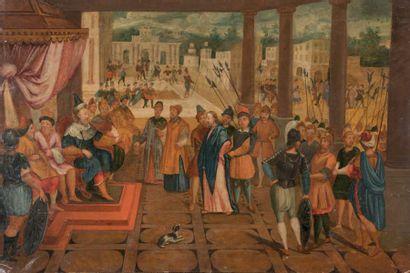 ÉCOLE FRANCAISE Fin du XVIe siècle