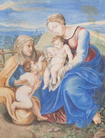ECOLE FRANCAISE dernier tiers du XVIIe siècle