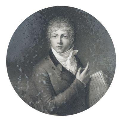 Attribué à Jean Baptiste ISABEY (1767 - 1855)