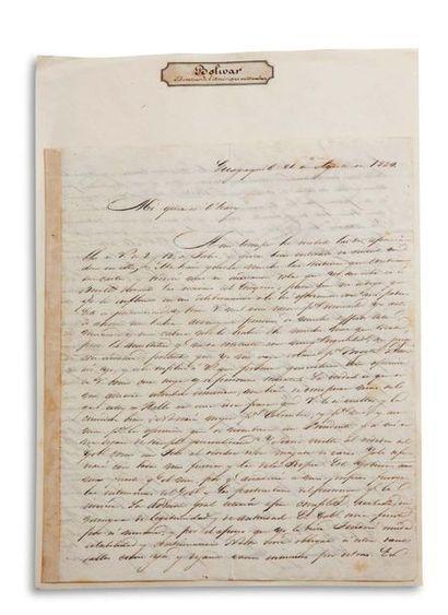 BOLIVAR SIMON (1783-1830).