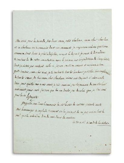 LAFAYETTE MARIE-JOSEPH DE (1757-1834)