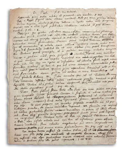 NEWTON ISAAC (1642-1727). Physicien, mathématicien et astronome anglais