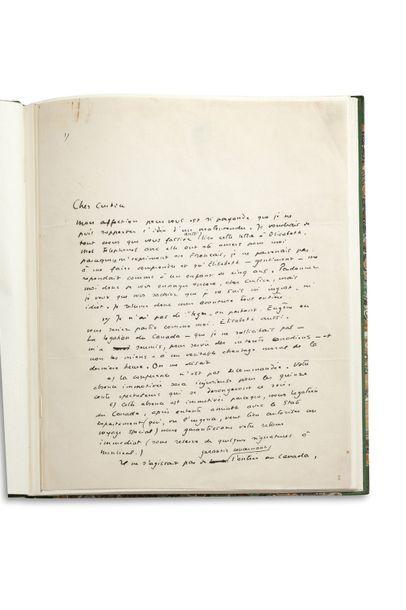 SAINT-EXUPÉRY ANTOINE DE (1900-1944). Écrivain, journaliste et aviateur français....