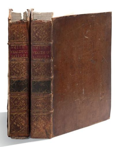 SMITH ADAM (1723-1790). Économiste et philosophe écossais.