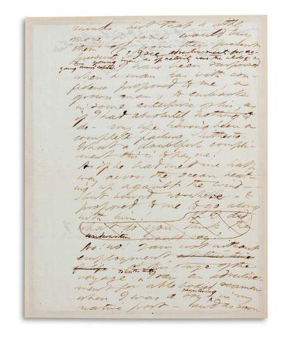 THOREAU HENRY DAVID (1817-1862). Écrivain et philosophe américain.