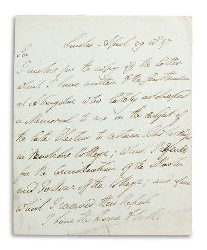 WELLINGTON ARTHUR WELLESLEY, DUC DE (1769-1852).