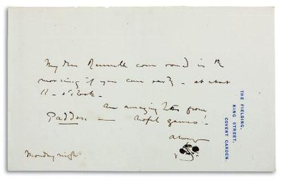 WHISTLER JAMES ABBOTT MCNEILL (1834-1903).